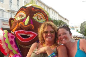 Bahamas Junkanoo Parade . . . Someone is behind you!