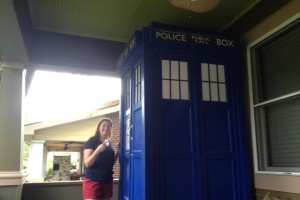 We found the Tardis!